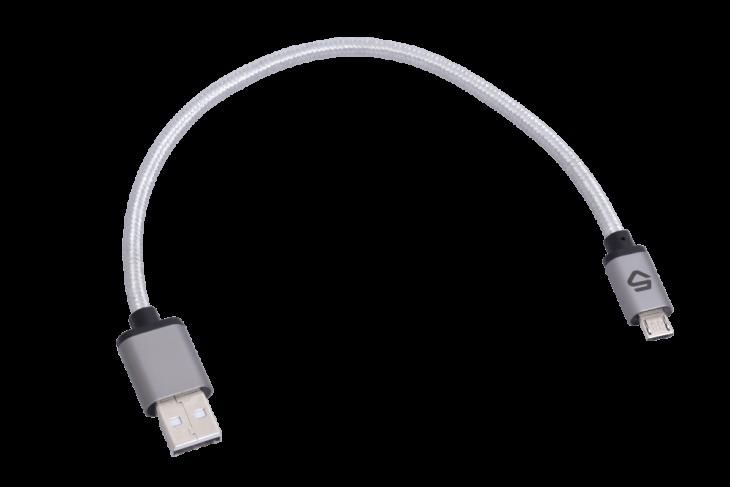 Cinq USB A-Micro-B